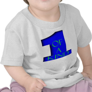 1 of a Kind (Blue/Green Lettering) Shirt
