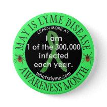 1 of the 300,000 Lyme Disease Patients      Button