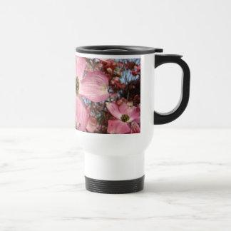 1 Office Mom coffee mug Pink Dogwood Flowers