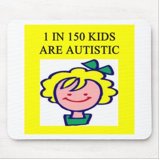 1 on 150 kids is autistics mouse pad