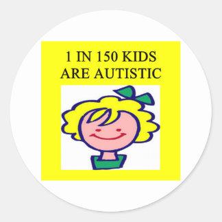 1 on 150 kids is autistics sticker