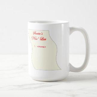 #1 on Santa's Nice List Coffee Mug