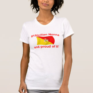 #1 orgulloso Nonna siciliano T-shirt