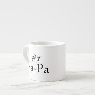#1 Pa-Pa 6 Oz Ceramic Espresso Cup
