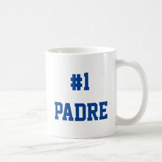 #1 Padre - regalo para el día del padre Taza Clásica