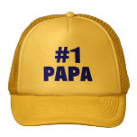 #1 Papa (Blue) Mesh Hat
