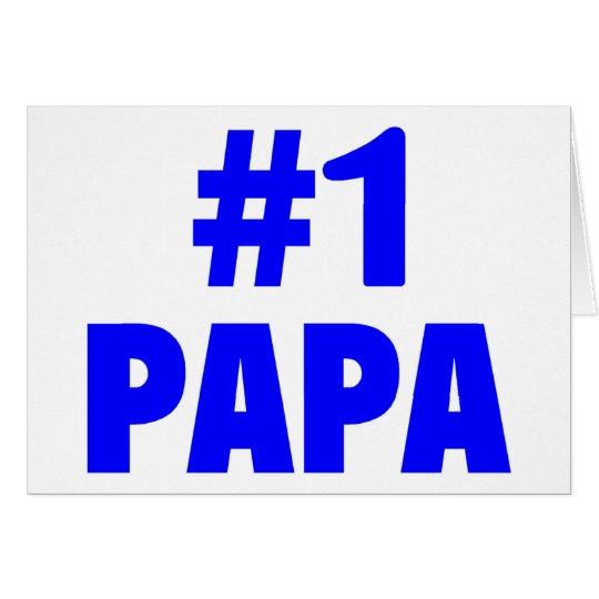 #1 Papa Card