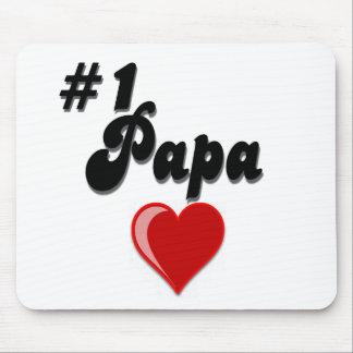 #1 Papa - Celebrate Grandparent's Day Mouse Pad