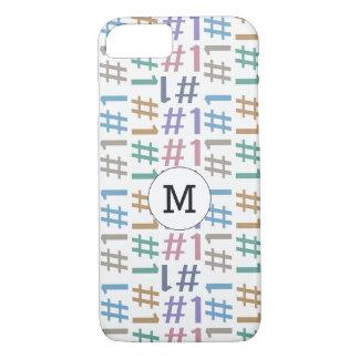"""# 1"" Pattern custom monogram phone cases"