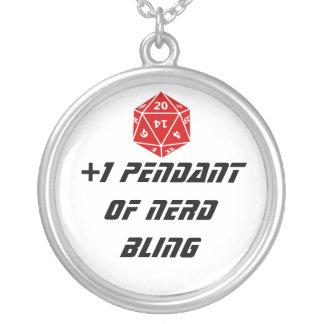 +1 Pendant of Nerd Bling