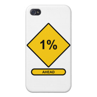 1 Percent Ahead iPhone 4 Cover