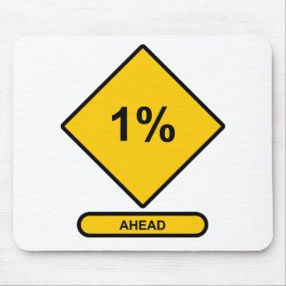 1 Percent Ahead Mouse Pad