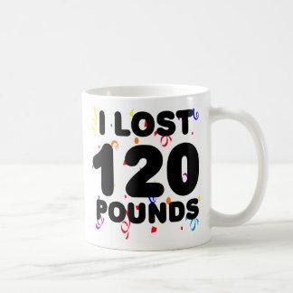 1 perdió 120 libras de fiesta taza
