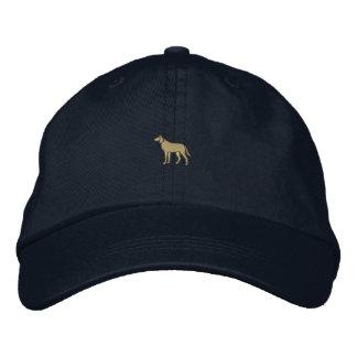 """1"""" perro gorras bordadas"""