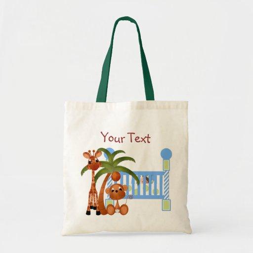 #1 personalizan el bolso del bebé bolsa