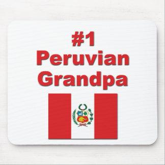 #1 Peruvian Grandpa Mouse Pad