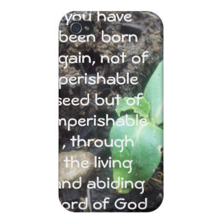 1 Peter 1:23 iPhone 4 Cover