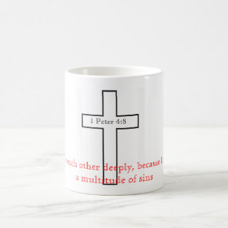 1 Peter 4:8 Coffee Mug