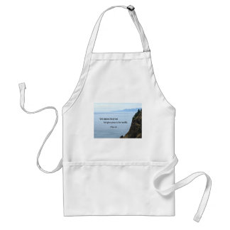 1 Peter 5:5 God opposes the proud, but gives grace Adult Apron