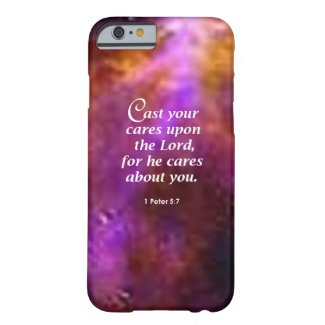 1 Peter 5:7 iPhone 5 Covers