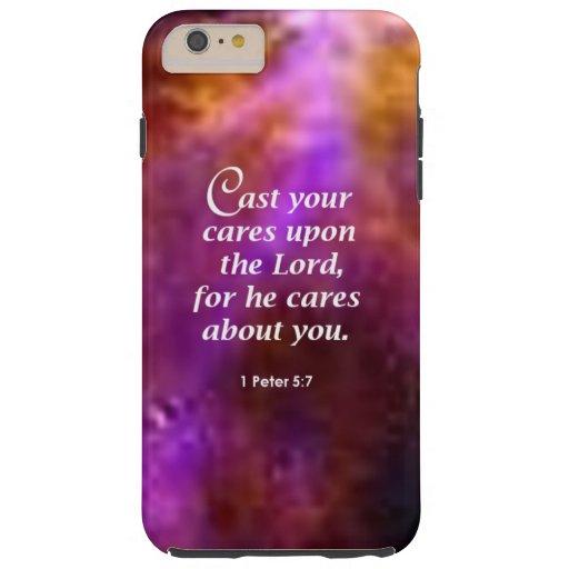 1 Peter 5:7 iPhone SE/5/5s Case
