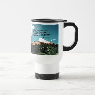1 Peter 5:8 Be sober, be vigilant; because.... Travel Mug