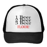 1 PISO de la cerveza de la cerveza 3 de la cerveza Gorra