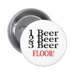 1 PISO de la cerveza de la cerveza 3 de la cerveza Pins