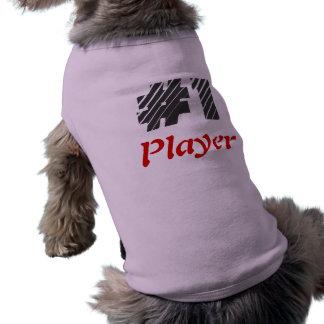 #1 Player Dog Shirt