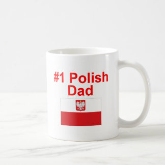 #1 Polish Dad Coffee Mug