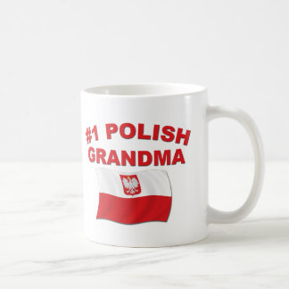 #1 Polish Grandma Coffee Mug