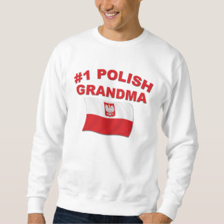 #1 Polish Grandma Sweatshirt