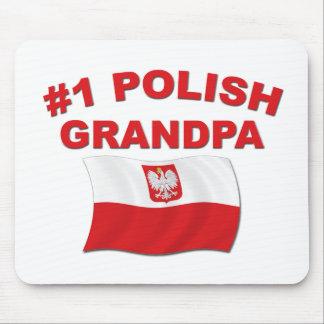 #1 Polish Grandpa Mouse Pad