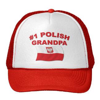 #1 Polish Grandpa Trucker Hat