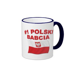 #1 Polski Babcia Ringer Mug