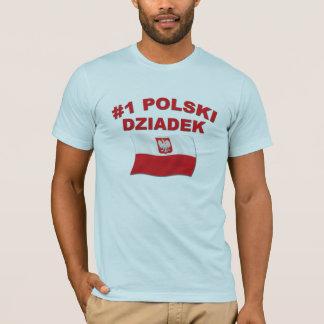 #1 Polski Dziadek T-Shirt