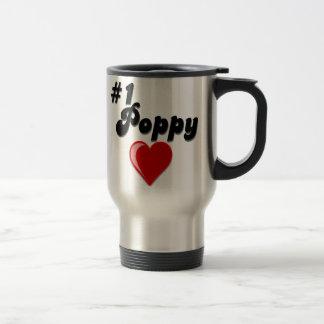 #1 Poppy - Celebrate Grandparent's Day Travel Mug