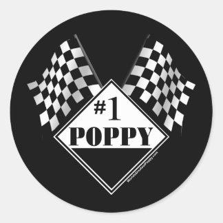 #1 Poppy Stickers