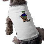 1 portero del diente camiseta de perro