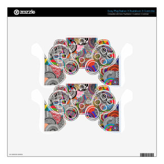 1 PS3 CONTROLLER DECALS