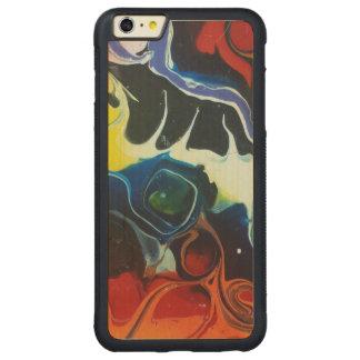 # 1 psicodélico funda de arce bumper carved® para iPhone 6 plus