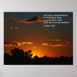 1 puesta del sol del 4:21 de Juan Posters