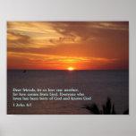 1 puesta del sol del 4:7 de Juan Impresiones