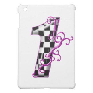 1 purple race number iPad mini covers