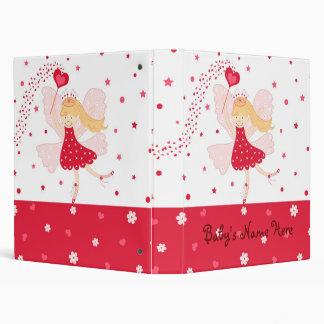 "1"" Red Fairy Ballerina Photo Album Binder"