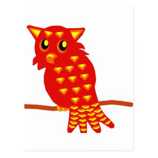 1-Red Owl Postcard