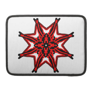 1 Red Transparent MacBook Pro Sleeves