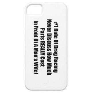 1 regla de fricción que compite con nunca discute iPhone 5 carcasas