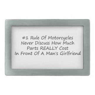 1 regla de motocicletas nunca discute cuánto pieza