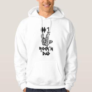 #1 Rock'n Dad Hoodie